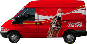 camioneta coca cola shadow
